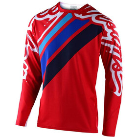 Troy Lee Designs Sprint Seca 2.0 Jersey Uomo, red/navy